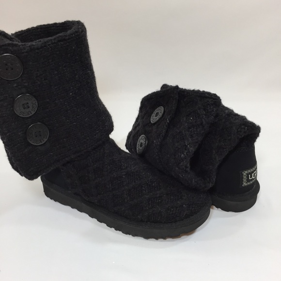 UGG Shoes - Button UGG Boots Size 8